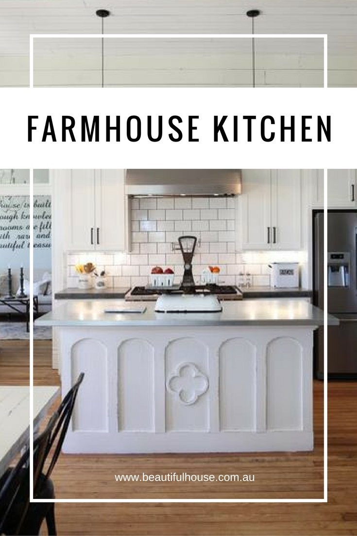 The farmhouse kitchen chip joanna gaines beautiful house for Chip and joanna gaines farmhouse address