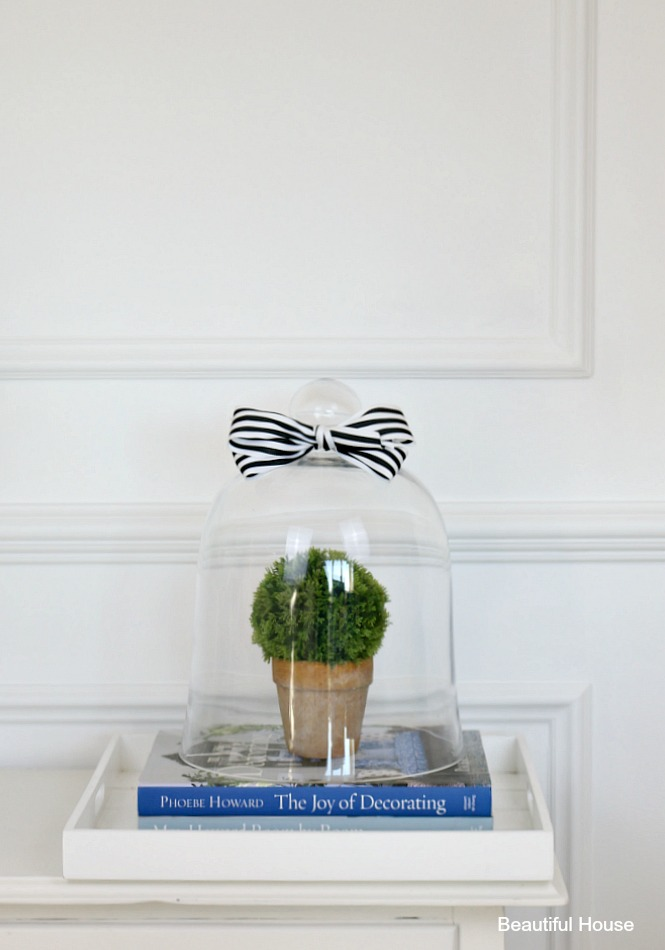 how to decorate a cloche