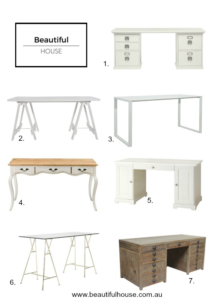 office table beautiful home. That Are Perfect For Adding Something Pretty To Your Office Desk. Come And Take A Look At The Latest Desk Finds In Stores. Home Desks Table Beautiful S