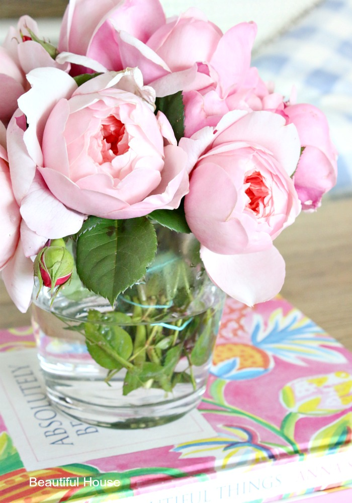 Pink roses, Home office