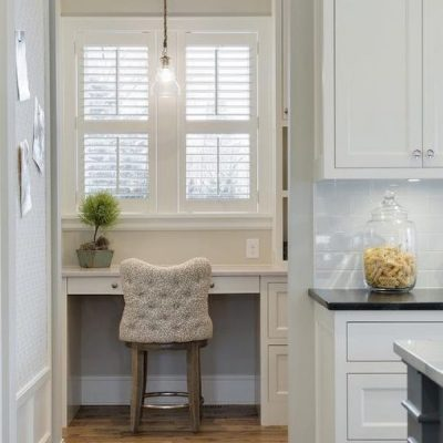 How To Create A Happy Kitchen Study Nook