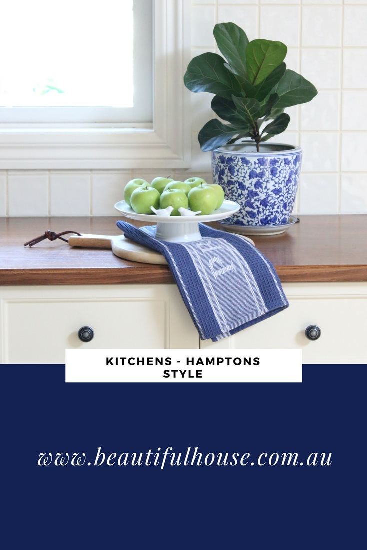 Hamptons style kitchen