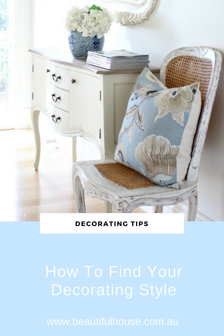 How To Find Your Own Decorating Style