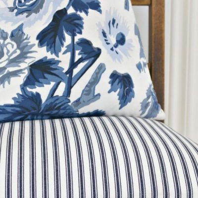 Decorating With Blue & White Stripes